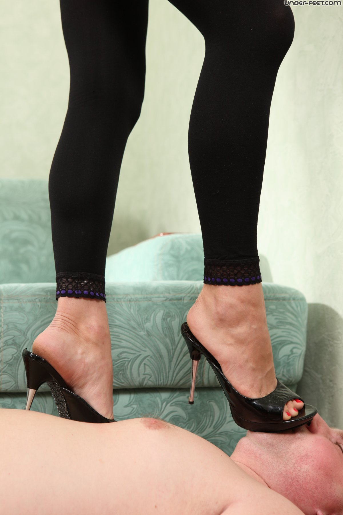 Worship our feet or lose your job 4