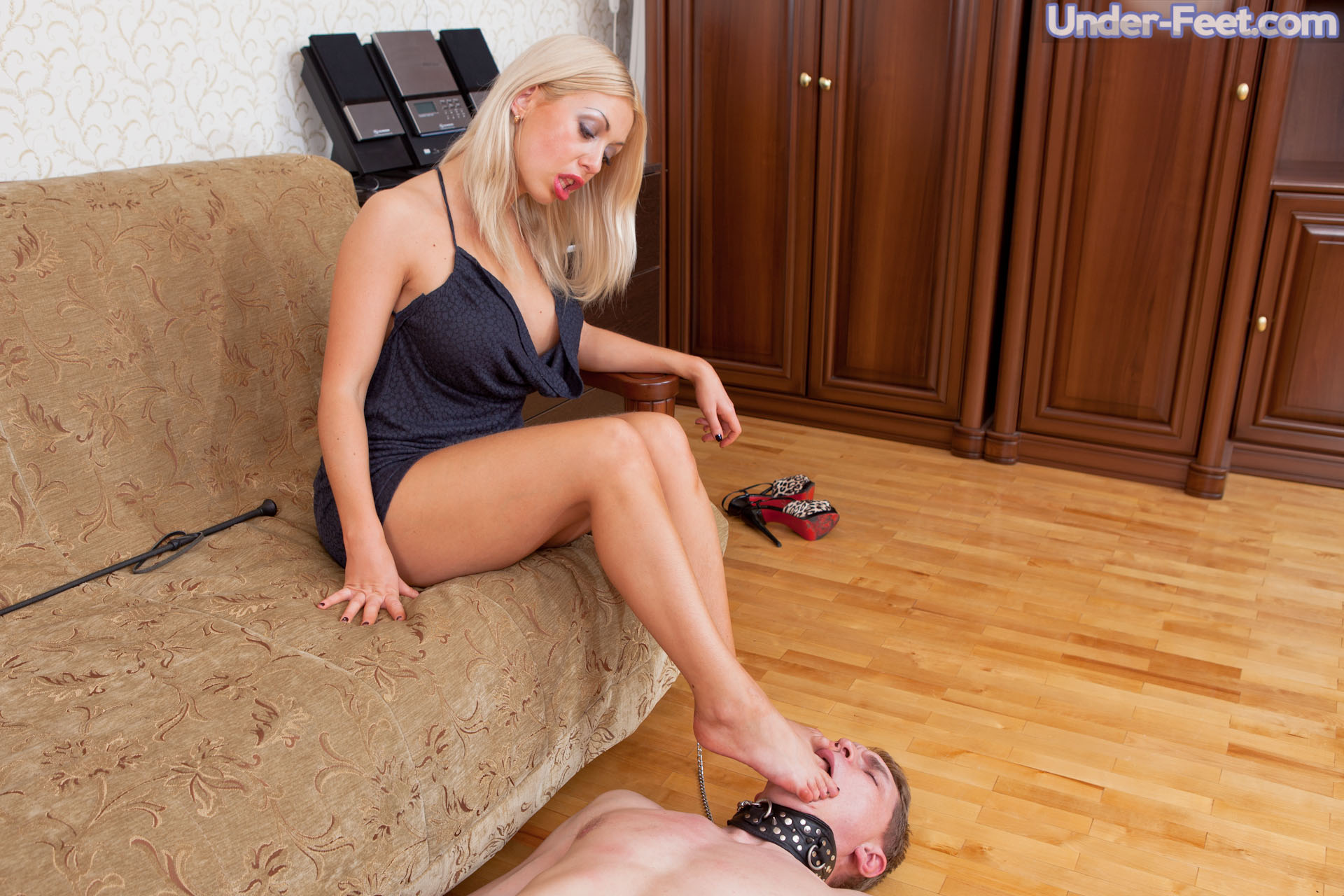 Mistress trampling Domination