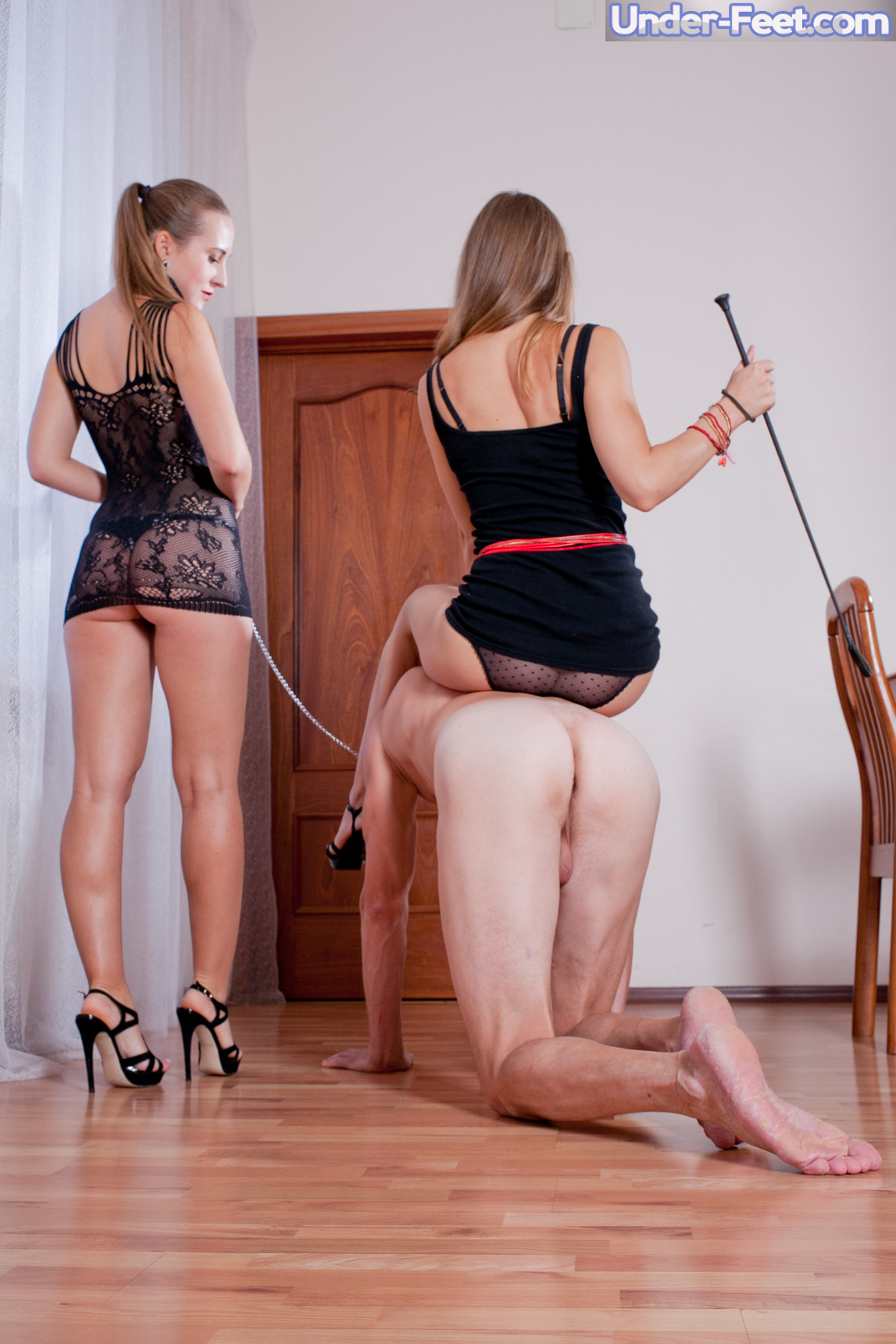 Worship our feet or lose your job 1